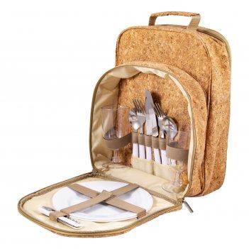 Набор для пикника на 2 персоны в рюкзаке 26*17*35см