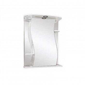 Зеркало misty лиана-55, с подсветкой, правое