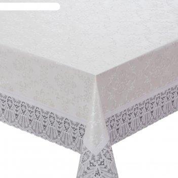 Скатерть meiwa, 152 х 264 см, белая