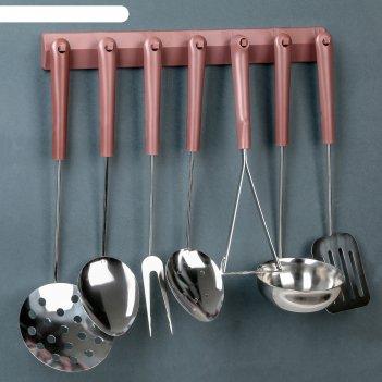 Набор кухонных принадлежностей, 7 предметов на подвеске