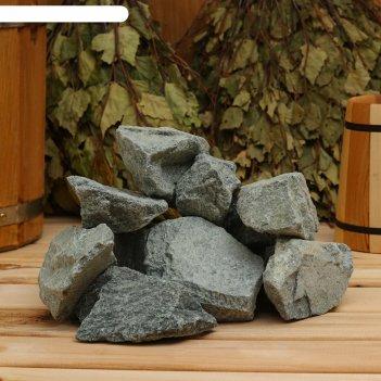 Камень для бани gabbro-diabase, коробка 20 кг