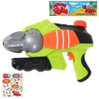 Летний бум водный пистолет крутая пушка, бонус - наклейки