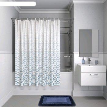 Штора для ванной комнаты iddis b22p218i11, 200x180 см, полиэстер