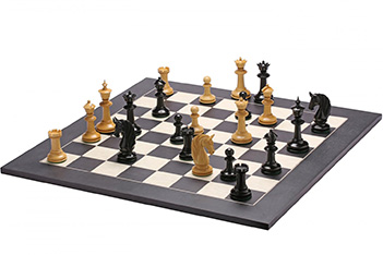 Эксклюзивные резные шахматы ручной работы валенсия, эбен, самшит 50см