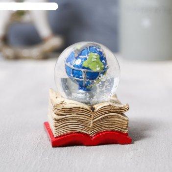 Снежный шар глобус, 6х5,2см