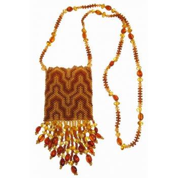 кошельки и сумочки из янтаря