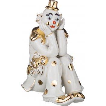 Фигурка клоун 18*12 см. высота=18 см.