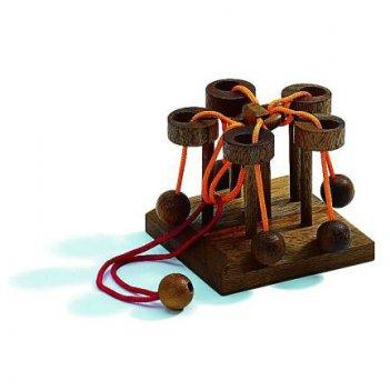 Головоломки деревянные весёлая карусель арт 6121