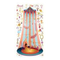 Ростомер детский с наклейками цирк