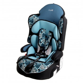Детское автомобильное кресло siger art драйв гр. 1-2-3 (геометрия)
