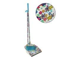 Набор для уборки: совок и щетка ленивка лето