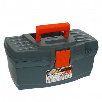 Ящик для инструментов master economy, черно-оранжевый