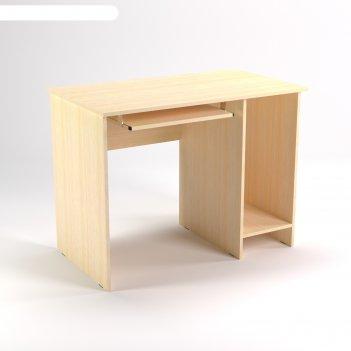 Стол компьютерный нишей ск11.7, 1100х680х750 мм, клен