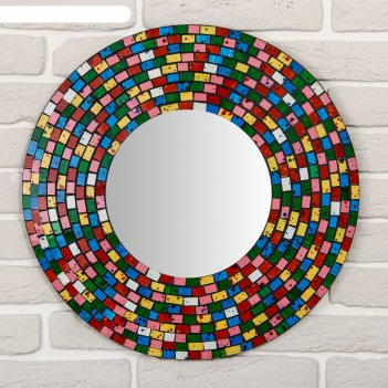 Панно зеркальное круг мечты 50х1х50 см