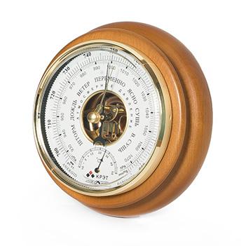 Барометр термометр бтк-сн 14 белый