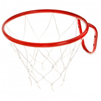 Корзина баскетбольная №5, d 380мм, с сеткой