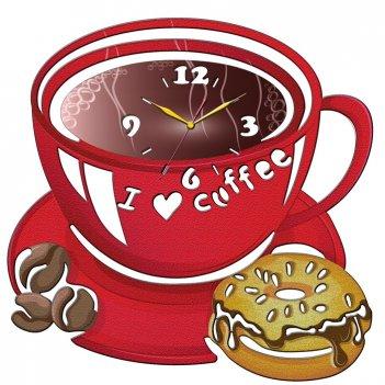 Часы настенные tiarella чашка кофе