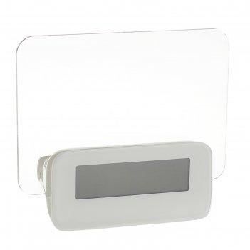 Часы-будильник luazon lb-16 послание, с маркером