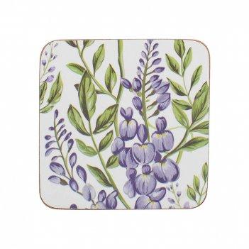 Creative tops набор из 6 подставок wisteria 10x10