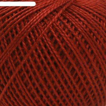 Нитки вязальные ирис 150м/25гр 100% мерсеризованный хлопок цвет 5610