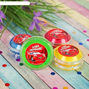 Йо-йо будь первым + шарики внутри, d=4,7 см, цвета микс