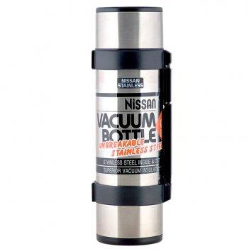 Термос из нержавеющей стали ncb-b12 rocket bottle black 1,2 л