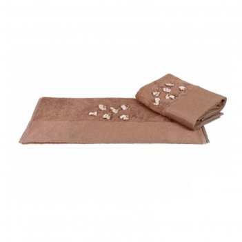 Полотенце beyra, размер 50 x 90 см, коричневый