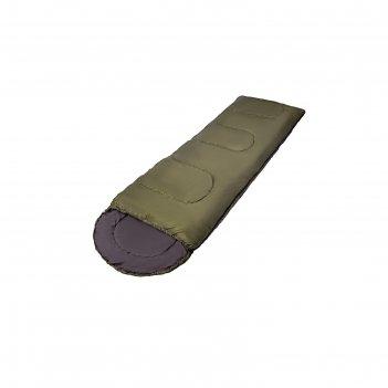 Спальный мешок сп4xxl 210+35х90 цвет хаки