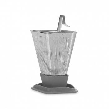 Ситечко для заваривания чая, размер: 6,2 х 9 см, материал: нержавеющая ста