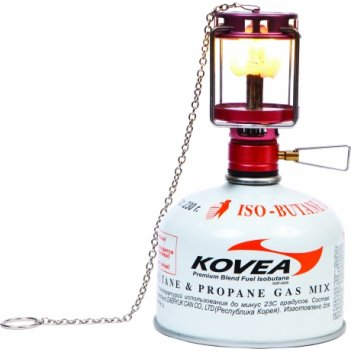 Kl-805 лампа газовая kovea firefly (параметр освещенности -110 lux)