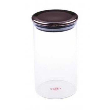 Стеклянный контейнер для хранения bambum dikelta 15 см