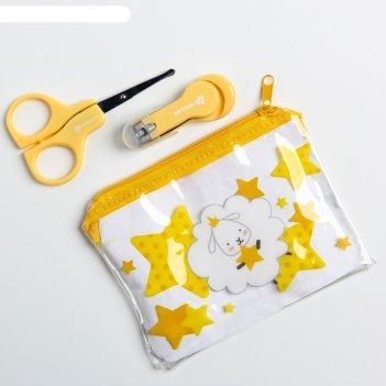 Набор маникюрный детский «наше чудо», 2 предмета: ножнички, книпсер