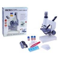Микроскоп сувенирный прогрессивный натуралист 1200х, usb провод -для выв