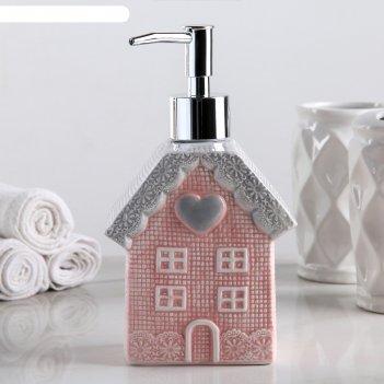 Дозатор для жидкого мыла домик