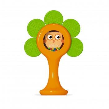 Погремушка - прорезыватель «лесной домик»