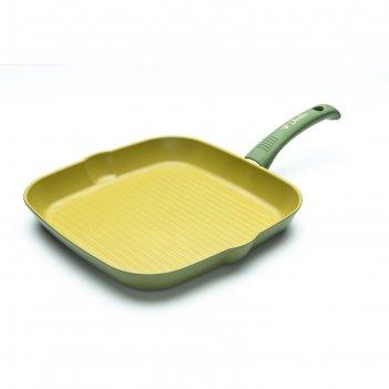 Сковорода-гриль olivilla 28х28 см