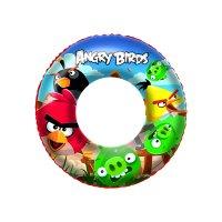 Angry birds надувной круг для плавания