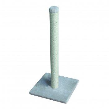 Когтеточка-столбик nobby anzio кремовая, 40 х 40 х 90 см