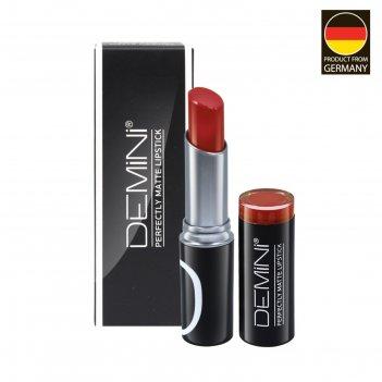 Помада для губ матовая demini perfectly matte lipstick, № 119 ягодный пунш