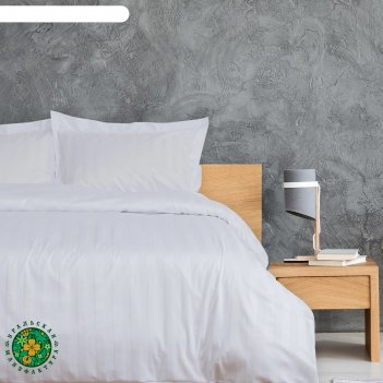 Постельное бельё этель hotel евро 200х220 см,220х240см.70х70см-2шт,страйп-