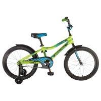 Велосипед 20 novatrack cron, цвет зеленый