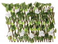 Декоративное ограждение белая роза 210x25 см
