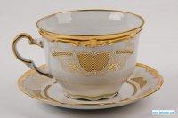 Набор для каппучино симфония золотая 427(чашка0,40л.+блюдц