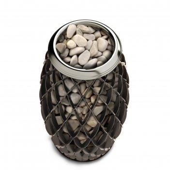 Печь для бани электрическая термофор мэри экс, 6 квт, черная бронза
