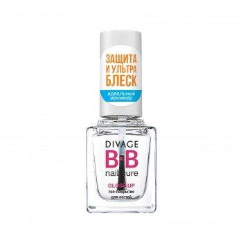 Топ-покрытие для ногтей divage bb gloss up
