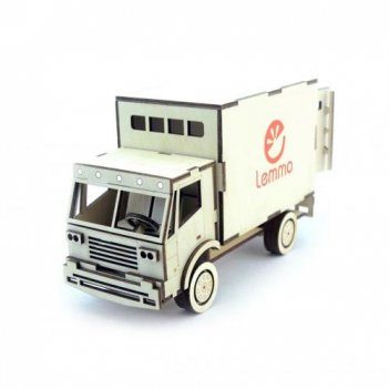Конструктор lemmo гр-2 грузовик фургон