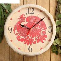Часы банные бочёнок №9