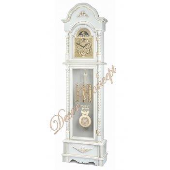 Часы напольные columbus cr-9232-pg «деликатность»