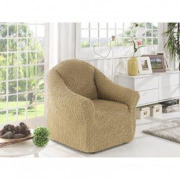 Чехол для кресла karna без юбки, цвет бежевый 2653