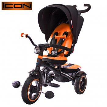 Icon 5 rt 3-х колесный велосипед-коляска vip v5 by natali prigaro orange